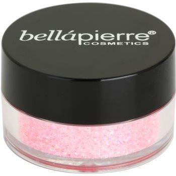 BelláPierre Cosmetic Glitter kosmetické třpytky odstín Light Pink 3,75 g