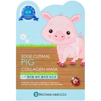Belleza Castillo Edge Cutimal Pig masca pentru fata cu colagen