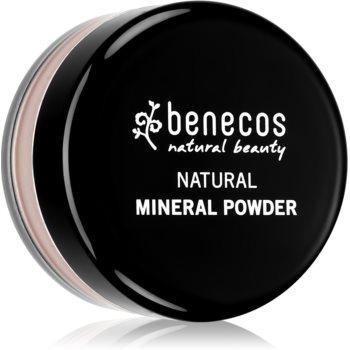 Benecos Natural Beauty pudra cu minerale imagine produs