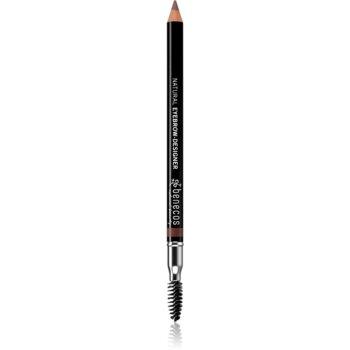 Benecos Natural Beauty creion dermatograf cu douã capete pentru sprâncene cu pensula imagine produs