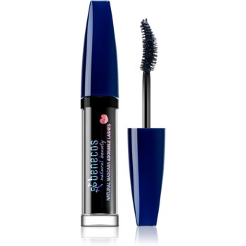 Benecos Natural Beauty mascara pentru volum si curbare cu vitamina E imagine produs