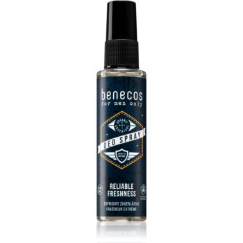 Benecos For Men Only spray şi deodorant pentru corp