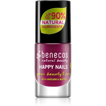 Benecos Happy Nails pflegender Nagellack Farbton Wild Orchid 5 ml