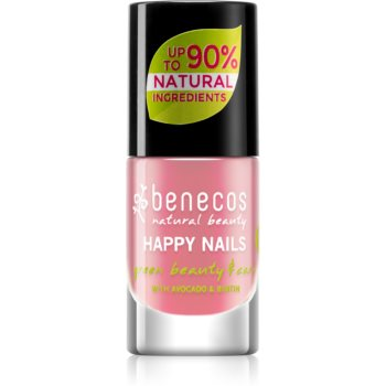 Benecos Happy Nails pflegender Nagellack Farbton Bubble Gum 5 ml