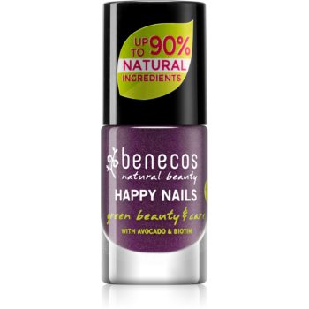 Benecos Happy Nails pflegender Nagellack Farbton Galaxy 5 ml