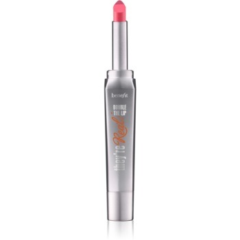 Benefit They're Real! Double The Lip ruj pentru buze culoare PinkThrills/Real Pink 1,5 g