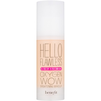 Benefit Hello Flawless Oxygen Wow fond de ten lichid SPF 25
