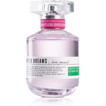 Benetton United Dreams for her Love Yourself eau de toilette pentru femei