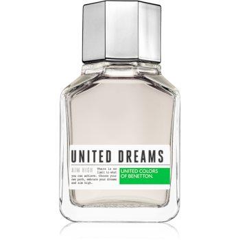 Benetton United Dreams for him Aim High Eau de Toilette pentru bărbați