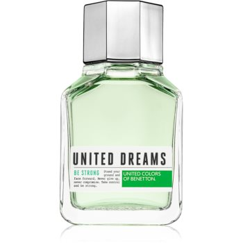 Benetton United Dreams for him Be Strong Eau de Toilette pentru bărbați