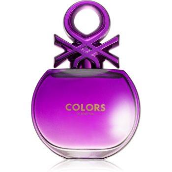 Benetton Colors de Benetton Woman Purple eau de toilette pentru femei
