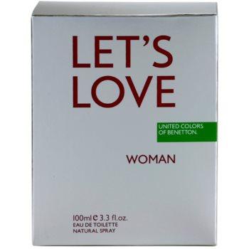 Benetton Let's Love туалетна вода для жінок 4