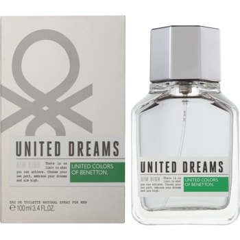 Benetton United Dream Aim High eau de toilette pentru barbati 100 ml