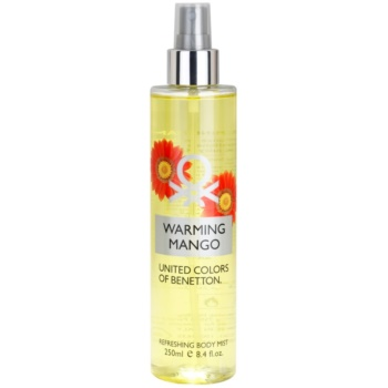 Benetton Warming Mango Body Spray for Women