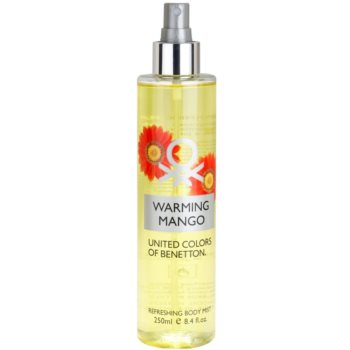 Benetton Warming Mango Body Spray for Women 1