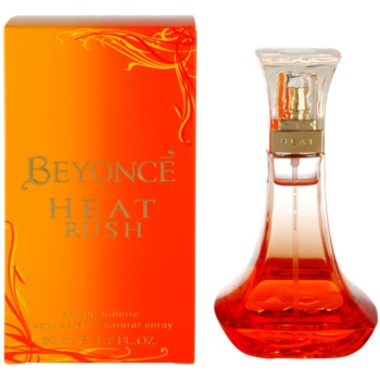 Beyoncé Heat Rush eau de toilette pentru femei 50 ml