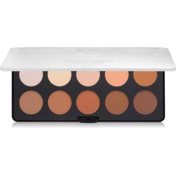 BH Cosmetics Studio Pro paleta pentru contur facial cu efect de iluminare