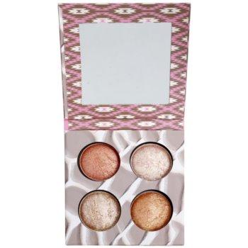 BH Cosmetics Wild & Radiant paleta pentru contur facial