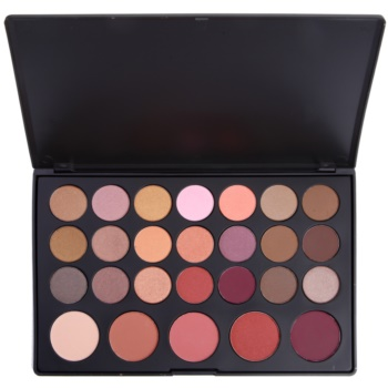 BHcosmetics 26 Color paleta cu fard de pleoape si fard de obraz  47 g