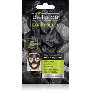 Bielenda Carbo Detox Active Carbon Masca de curã?are cu cãrbune pentru ten gras ?i mixt imagine produs