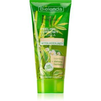 Bielenda Your Care Bamboo & Green Tea exfoliant din zhar pentru netezire