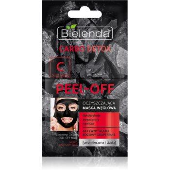 Bielenda Carbo Detox Active Carbon mascã facialã de acoperire cu cãrbune activ pentru ten gras ?i mixt imagine produs