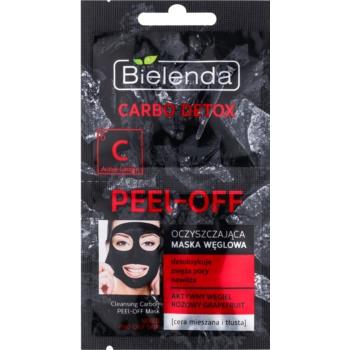 Bielenda Carbo Detox Active Carbon mască facială de acoperire cu cărbune activ pentru ten mixt si gras