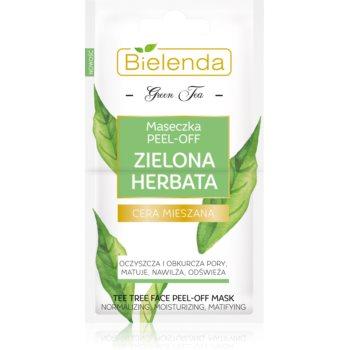 Bielenda Green Tea mascã exfoliantã pentru pielea cu imperfectiuni imagine produs