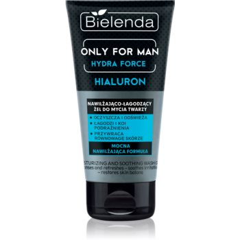 Bielenda Only for Men Hydra Force gel calmant de curatare pentru barbati