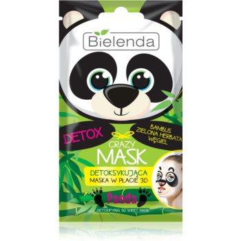 Bielenda Crazy Mask Panda Detox-Maske 3D 1 St.