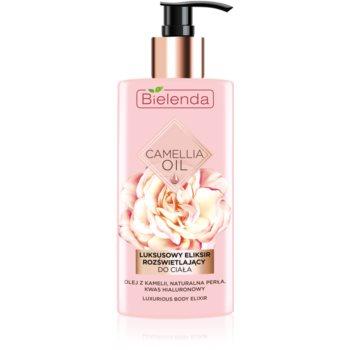 Bielenda Camellia Oil lotiune de corp hidratanta cu particule stralucitoare