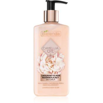Bielenda Camellia Oil lotiune de corp hidratanta cu particule stralucitoare imagine produs
