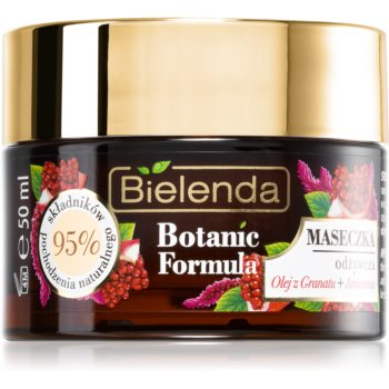 Bielenda Botanic Formula Pomegranate Oil + Amaranth masca hidratanta si hranitoare imagine produs