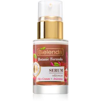Bielenda Botanic Formula Pomegranate Oil + Amaranth ser facial calmant si hranitor imagine produs