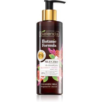Bielenda Botanic Formula Pomegranate Oil + Amaranth lapte de curatare poza noua