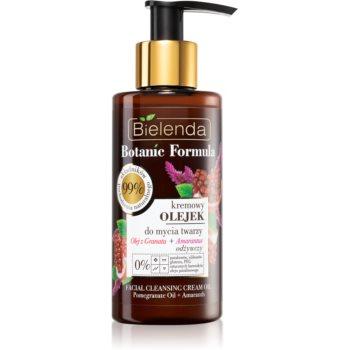 Bielenda Botanic Formula Pomegranate Oil + Amaranth Ulei pentru curatarea tenului