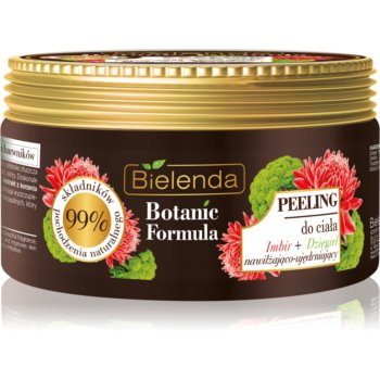 Bielenda Botanic Formula Ginger + Angelica Exfoliant hrănitor pentru corp