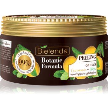 Bielenda Botanic Formula Lemon Tree Extract + Mint exfoliant de corp pentru matifiere