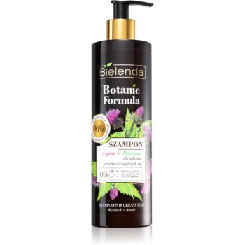 Bielenda Botanic Formula Burdock + Nettle ?ampon pentru pãr gras imagine produs