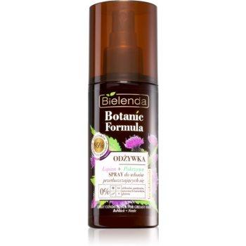 Bielenda Botanic Formula Burdock + Nettle conditioner Spray Leave-in pentru par gras imagine produs