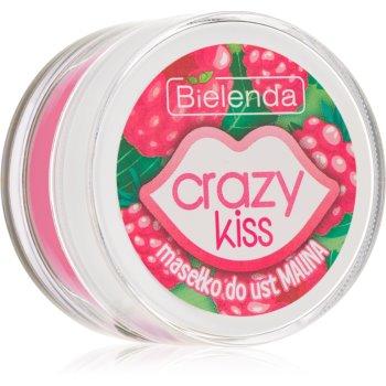 Bielenda Crazy Kiss Raspberry Unt de ingrijire a buzelor imagine produs