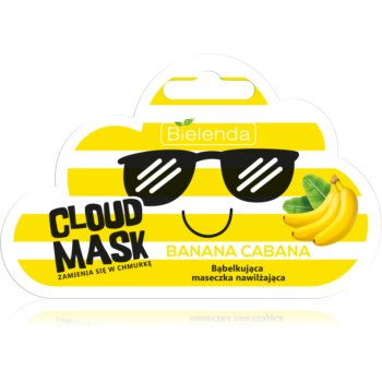 Bielenda Cloud Mask Banana Cabana masca faciala hidratanta imagine produs