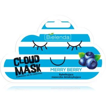 Bielenda Cloud Mask Merry Berry masca faciala detoxifianta imagine produs