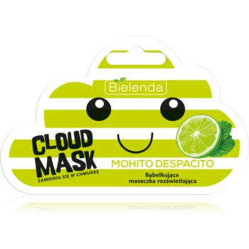 Bielenda Cloud Mask Mohito Despacito masca pentru albirea tenului imagine produs