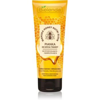 Bielenda Manuka Honey spuma de curatare imagine produs