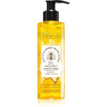 Bielenda Manuka Honey gel de curatare micelar pentru netezirea pielii imagine produs