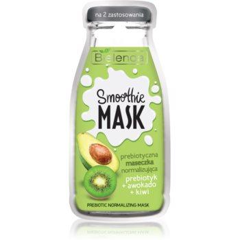 Bielenda Smoothie Prebiotic + Avocado + Kiwi masca de normalizare imagine produs