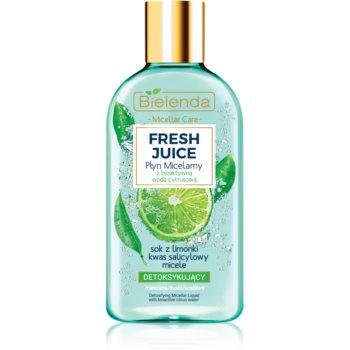 Bielenda Fresh Juice Lime apă micelară pentru piele mixtă și sensibilă
