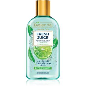 Bielenda Fresh Juice Lime apã micelarã pentru piele mixtã ?i sensibilã imagine produs