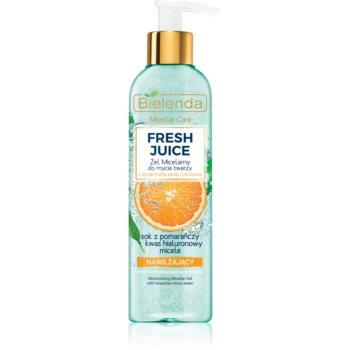 Bielenda Fresh Juice Orange gel de curatare micelar cu efect de hidratare imagine produs